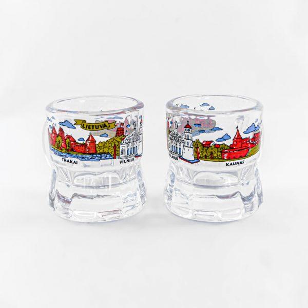 Baltic souvenirs Suvenyrai lietuviški suvenyrai stikliukai