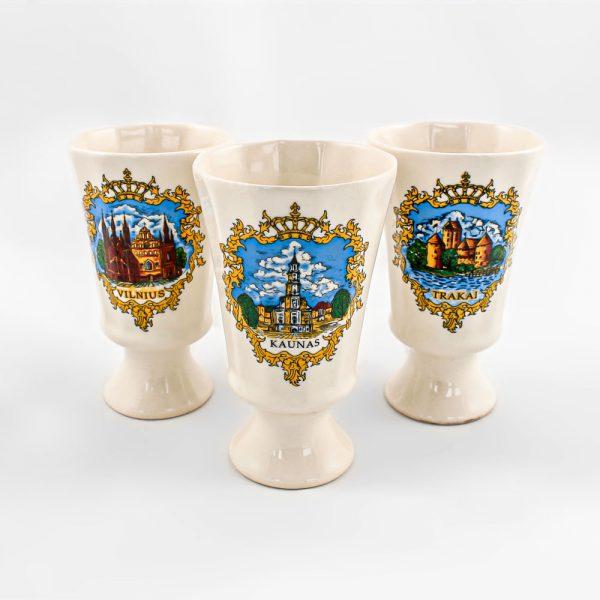Baltic souvenirs Suvenyrai lietuviški suvenyrai taurės
