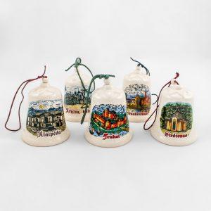 Baltic souvenirs Suvenyrai lietuviški suvenyrai varpeliai keramikiniai